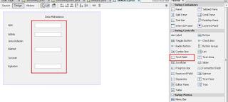 komponen text field
