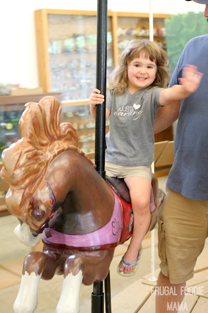 From feeding the animals to a lavender maze to a indoor carousel, families will love spending a day at Back Home On The Farm. #BlueRidgeBucket #Trekarooing