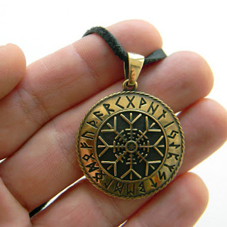 купить агисхъяльм ювелирное украшение скандинавская символика