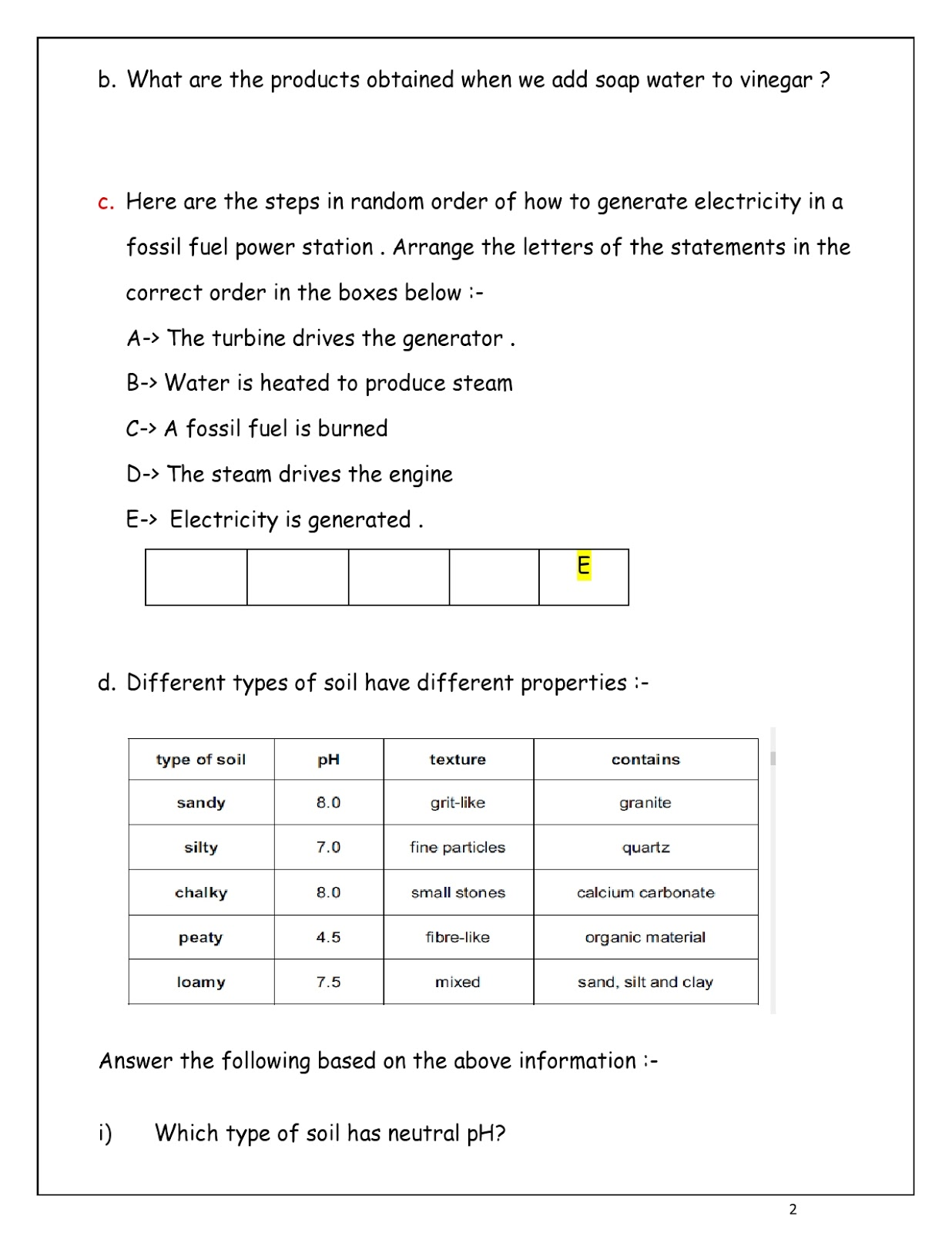 WORLD SCHOOL OMAN: Revision Worksheets for Grade 7 as on 13-05-2019 [ 1600 x 1236 Pixel ]
