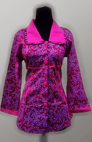 Model Baju Batik Untuk Wanita Lengan Panjang