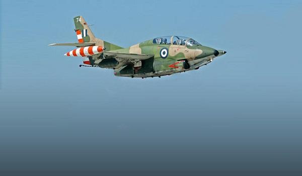 Πτώση αεροπλάνου της Πολεμικής Αεροπορίας στην Καλαμάτα