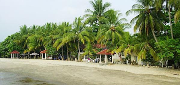 Lokasi Pantai Karang Suraga Banten