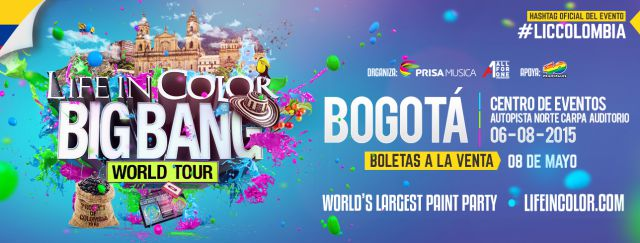 Life in Color Big Bang World Tour