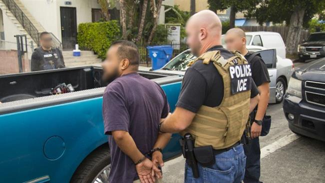 US federal immigration agents arrest some 200 undocumented immigrants in Los Angeles area