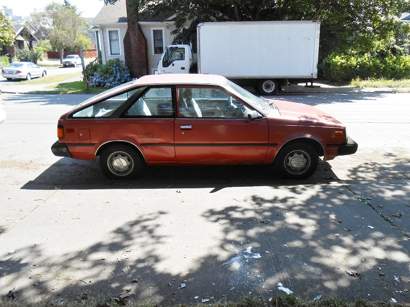 Seattle S Parked Cars 1983 Datsun Nissan Sentra Coupe The 2020 sentra starts at $19,310 (msrp), with a destination charge of $925. seattle s parked cars blogger