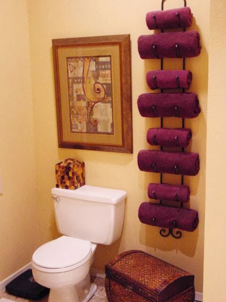 7 Creative Ideas For Bathroom Towel Storage: Organizing And Storing Bathroom Towels
