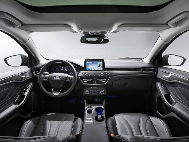Novo Ford Focus 2019 - suspensão por eixo de torção