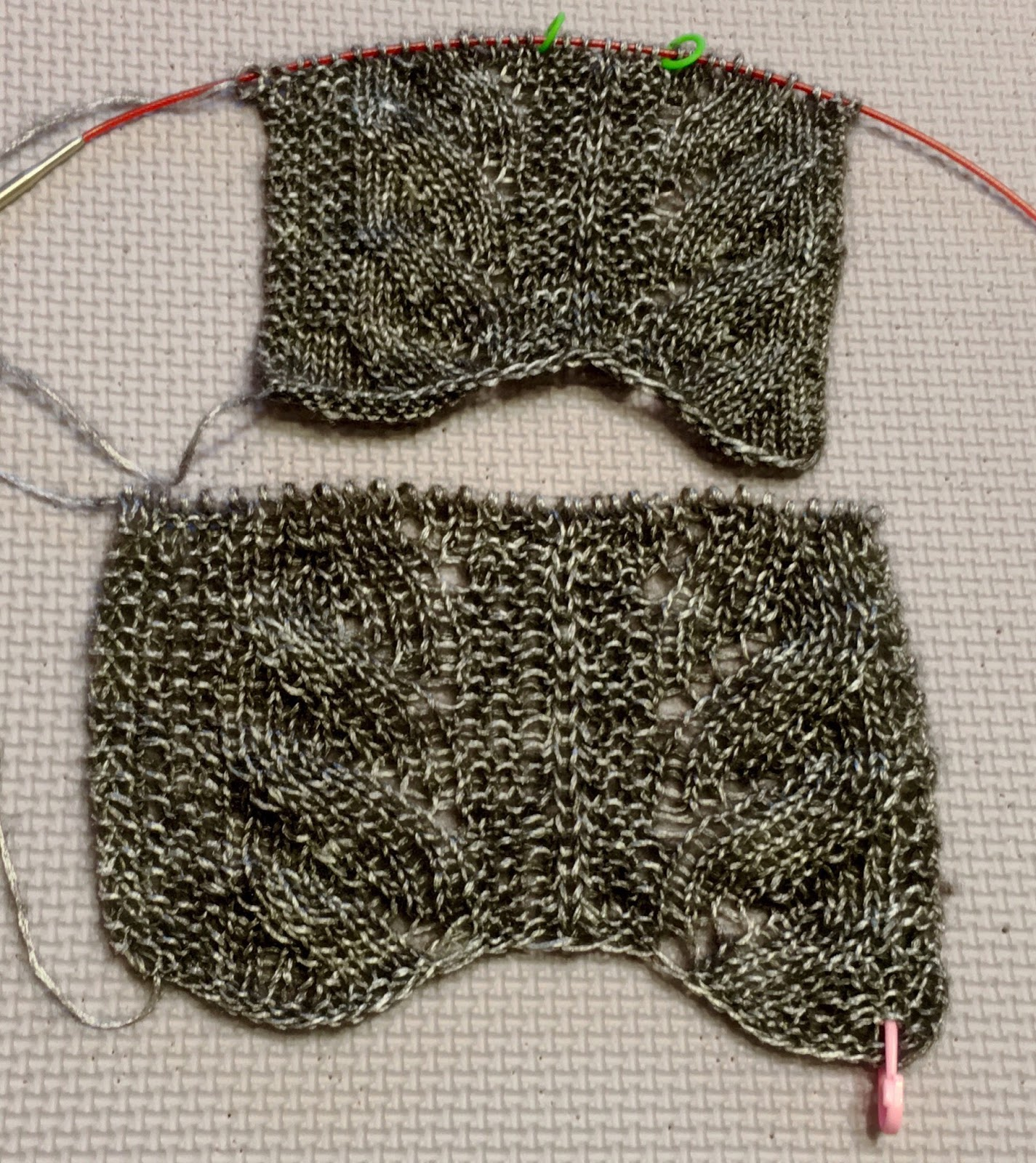 Finger Knitting Urban Dictionary : Stitch and chat swatch much