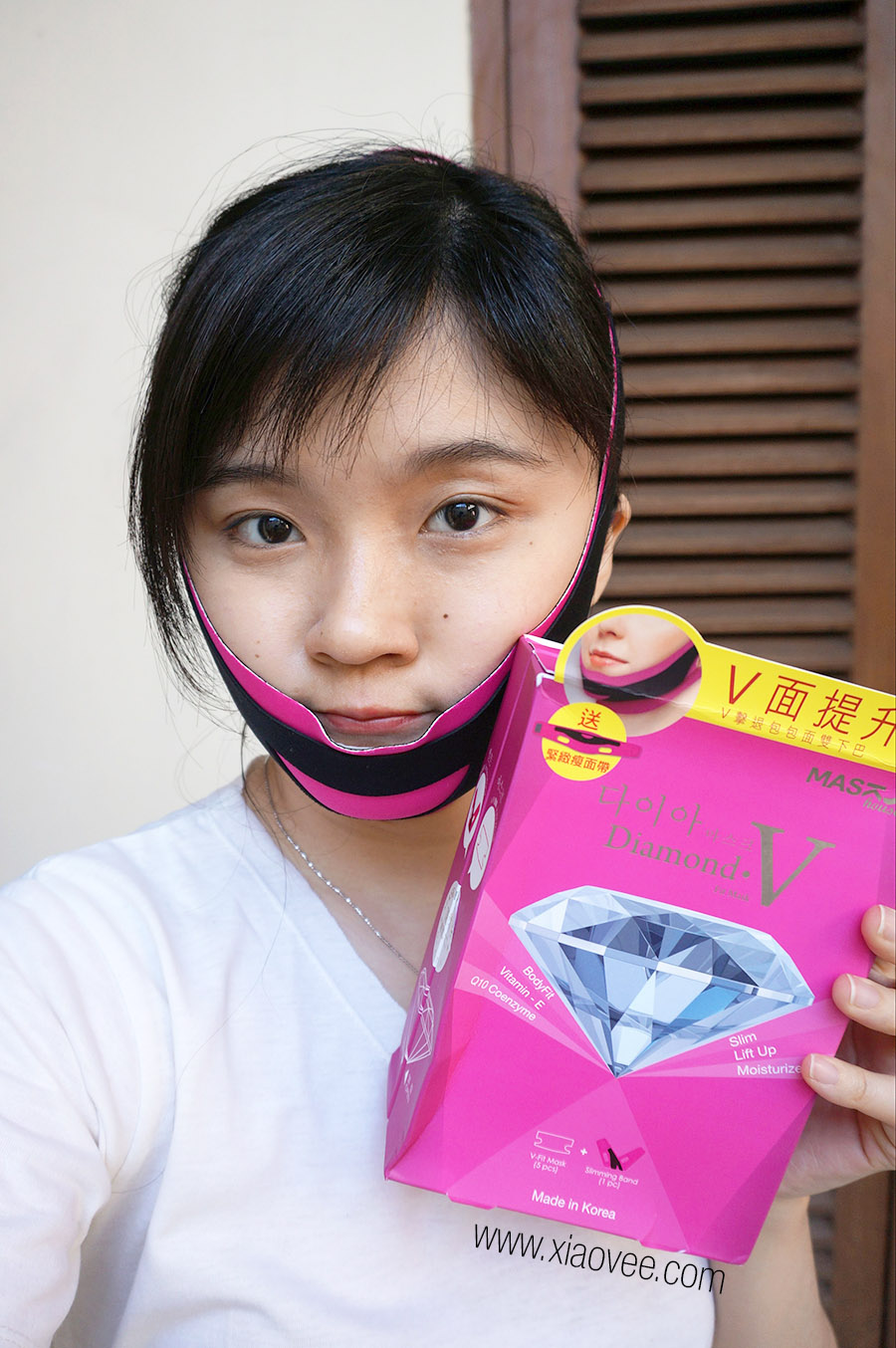 Mask House Diamond V Fit Mask Review - How to get V-chin without surgery