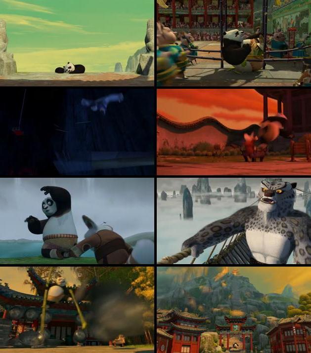 Kung Fu Panda 2008 Dual Audio Hindi 720p BluRay 1GB