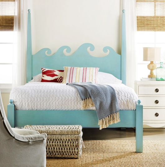 Shore Bed Wave Headboard