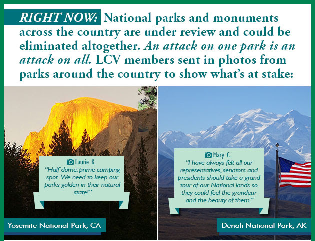 Trump threatening National parks & monuments