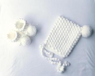 White Crochet Gift Set