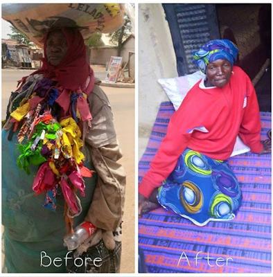 Mentally Unstable Woman Regains Sanity After Pastor Kumuyi's Crusade In Bauchi.  Photos