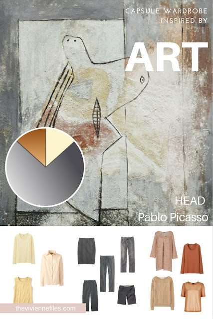How to Build a Capsule Wardrobe with a Backbone by Starting with Art: Head by Pablo Picasso
