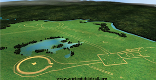 The Newark Earthworks Reconstruction. Image Courtesy of The Ancient Ohio Trail.