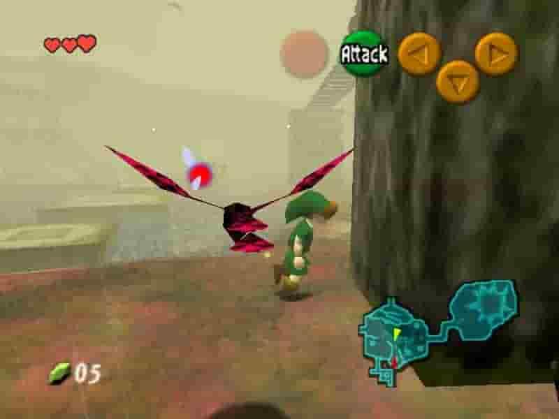 Legend of Zelda The - Nightmare Hack rom