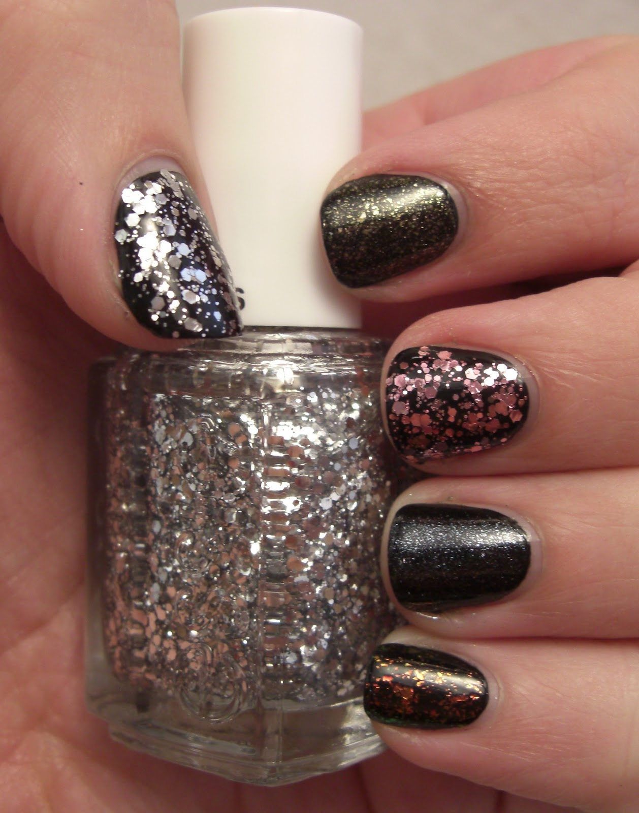 glitter obsession: Essie Luxeffects Swatches and Review