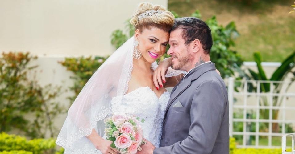 Ensaio fotográfico de casamento de Léo Àquilla e Chico Campadello