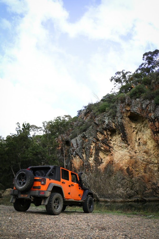 Turon River Campsite Camping Ground Australia Jeep