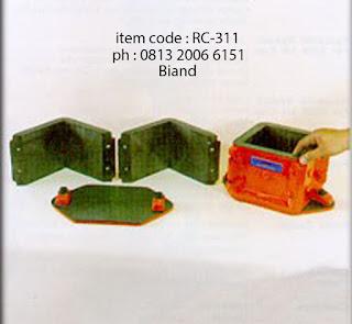 jual cetakan beton kubus berbagai macam ukuran
