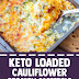 #Keto Loaded Cauliflower Broccoli Casserole