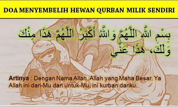 Doa Menyembelih Hewan Qurban
