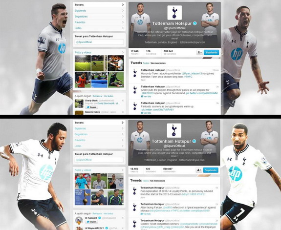 Gareth Bale removed from @SpursOfficial Twitter page