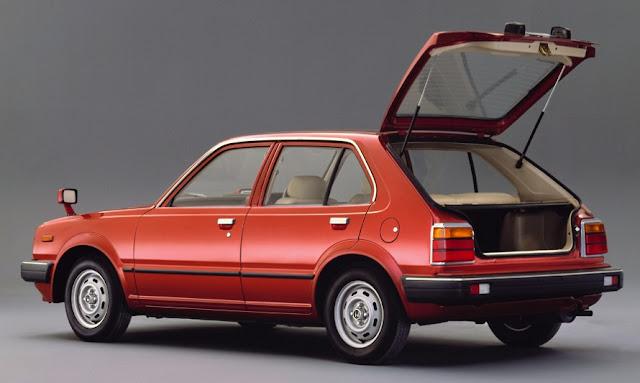 Honda Civic Second Generation 5-door 1300-EF Hatchback