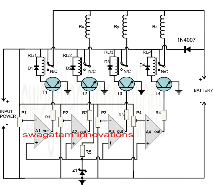 Fast Battery Charger Circuit
