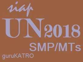 Bahasa Indonesia : Kisi UN 2018 SMP/MTs