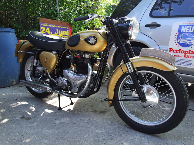 BSA Road Rocket 650 Front look