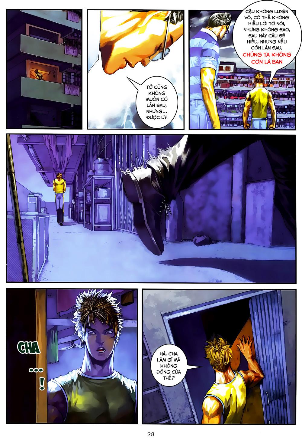 Quyền Đạo chapter 4 trang 28