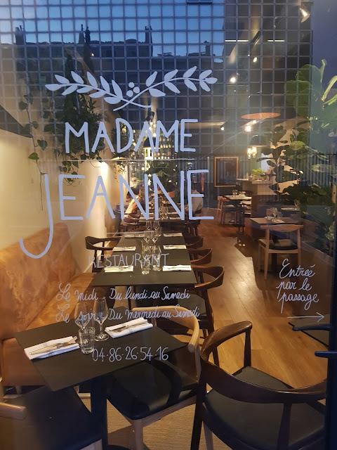Ristorante Madame Jeanne, Marsiglia