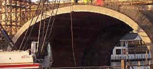 A 1800Kg/CUM Structural Lightweight Concrete was Used in Kingston Bridge – London With Lytag® AGGREGARE