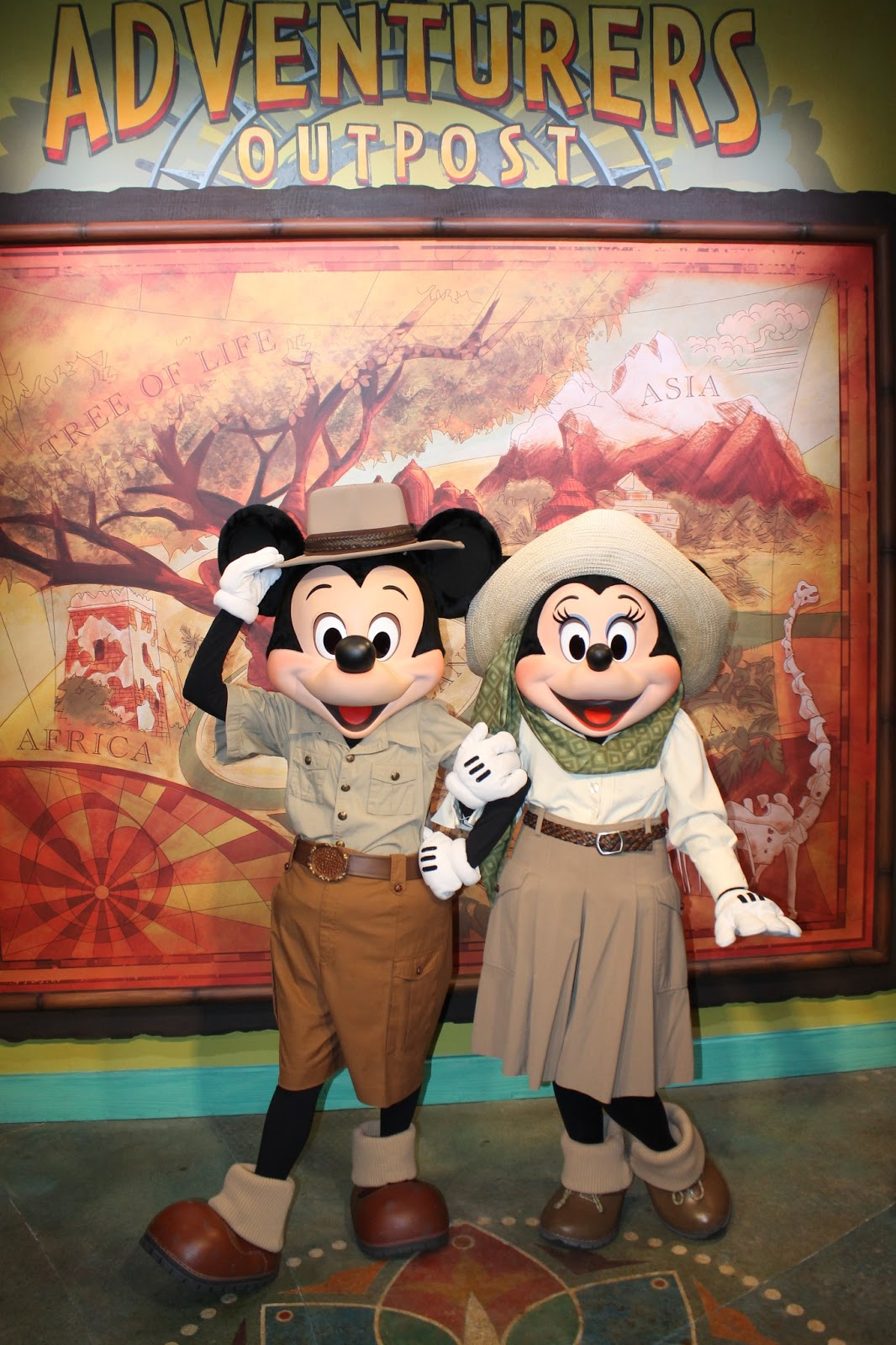 May 16 2013 Meeting Mickey And Minnie At The