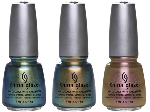 STATKIX - CHINA GLAZE BOHEMIAN LUSTER CHROME COLLECTION FALL 2012