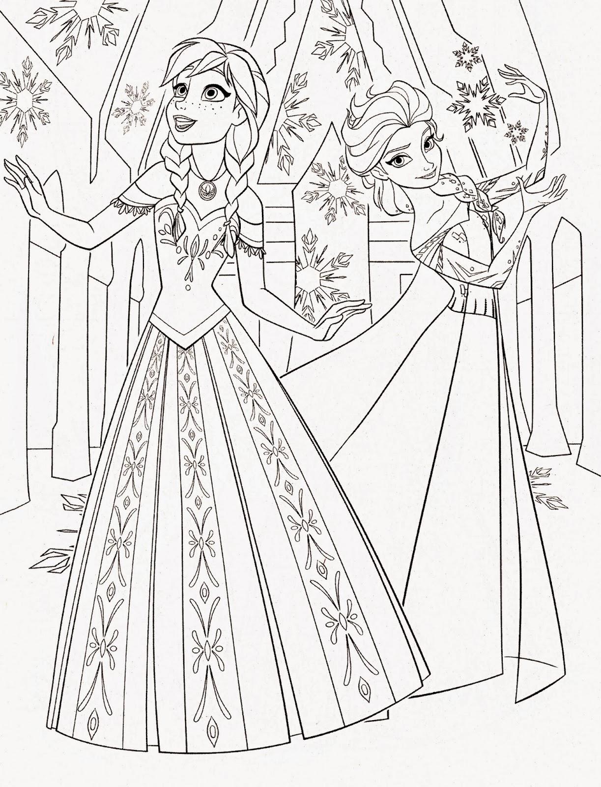 14 Wall Disney Princess Coloring
