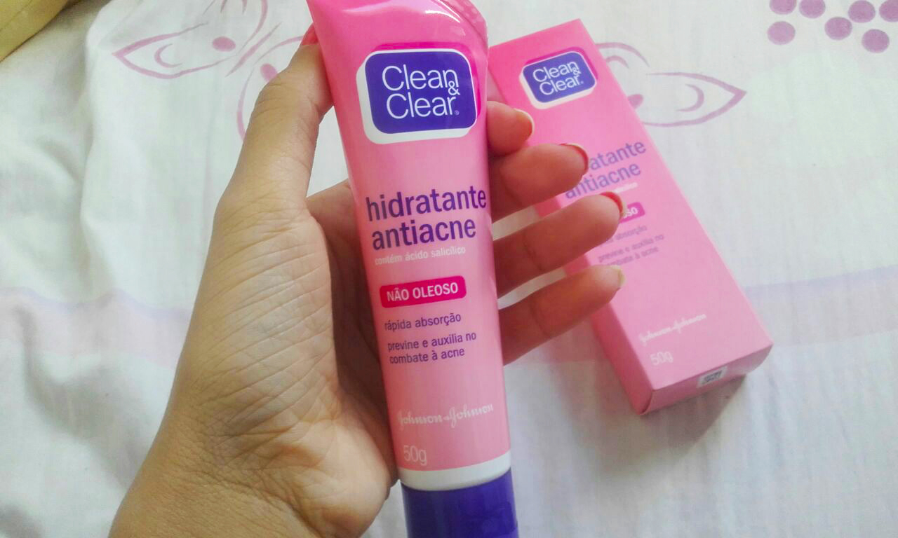 Resenha do Hidratante Antiacne Clean  & Clear