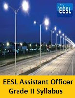 EESL Assistant Officer Grade II Syllabus
