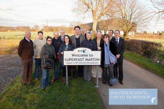 BT Infinity Broadband comes to Marton Warwickshire