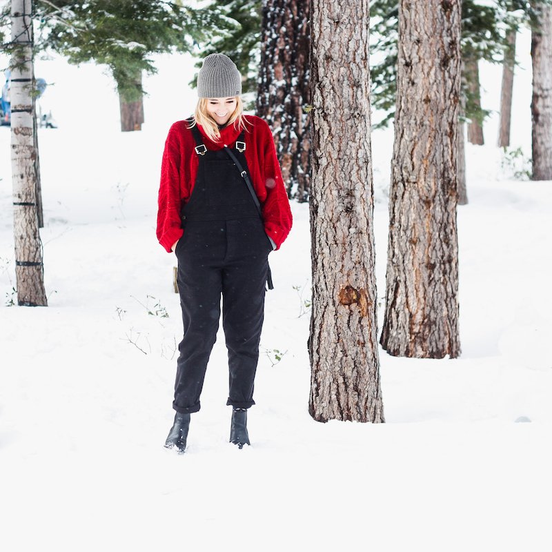 Outfits for cold weather in Tahoe by Bryn Newman of Stone Fox Style, a San Francisco Fashion Blog.