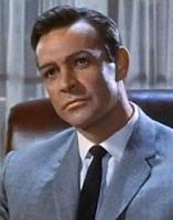 Fotografía de Sean Connery tomada en 1964 de la película Marnie de Alfred Hitchcock