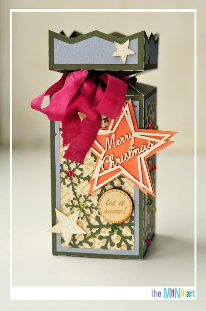 candy box @akonitt #alteredscrap #candybox #by_marina_gridasova #silhouettecameo #robinsnest #theminiart #chipboard #newyearproject