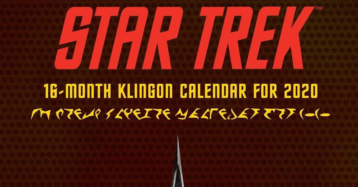 2020 Star Trek calendar line-up revealed
