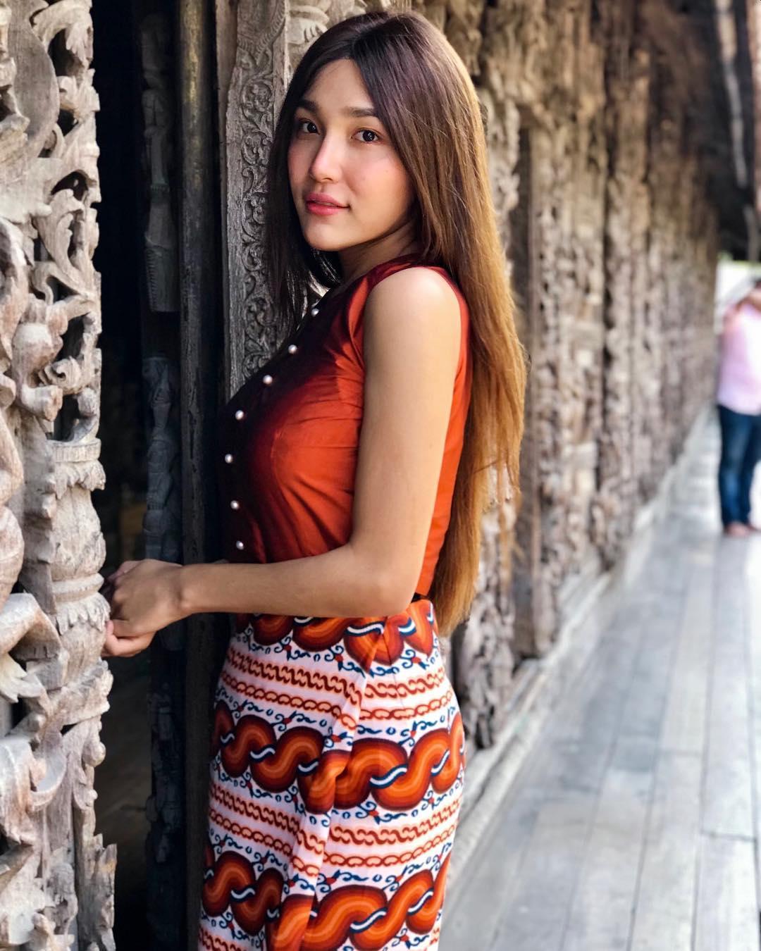 Nann Mway Hnin - Most Beautiful Transgender Woman in ...