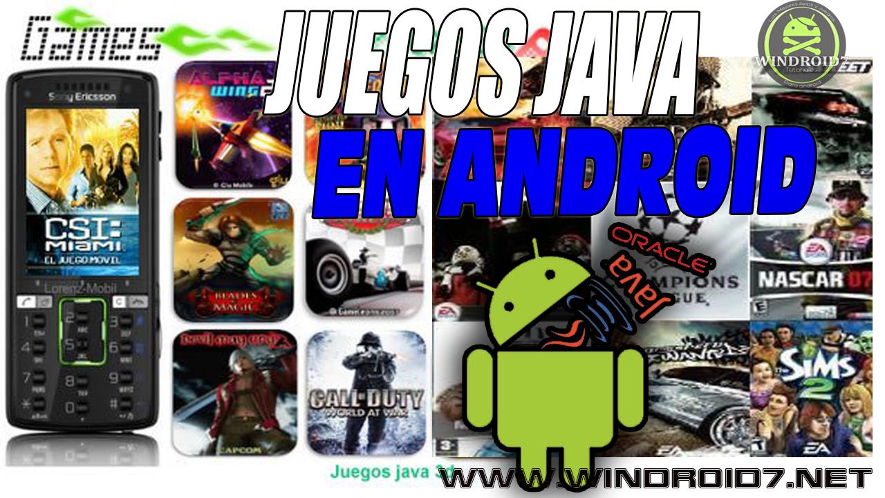 descargar juegos java para android