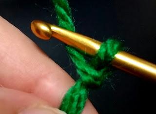 鈎編みの作り目, starting of crochet, 钩针编织的开头,
