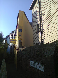 The Piece of Cheese Cottage in Hastings